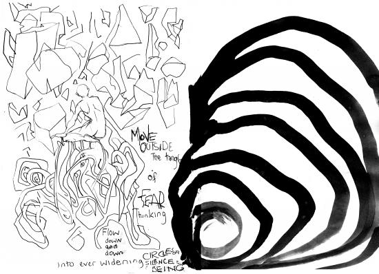 webzine,gratuit,zébra,fanzine,bd,bande-dessinée,louise asherson,cercles,carnet,dessin,croquis