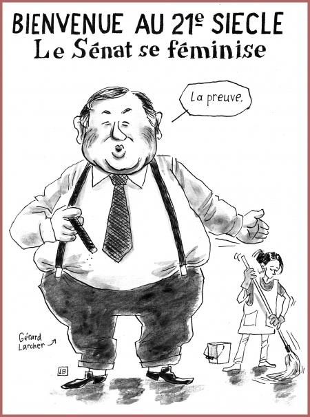 webzine,bd,gratuit,zébra,fanzine,bande-dessinée,satirique,caricature,sénat,gérard larcher,dessin,presse