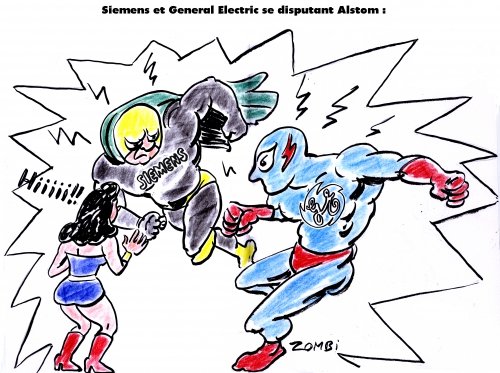 webzine,bd,zébra,gratuit,fanzine,bande-dessinée,satirique,caricature,siemens,alstom,general electric,super-héros,dessin,presse,editorial cartoon,zombi