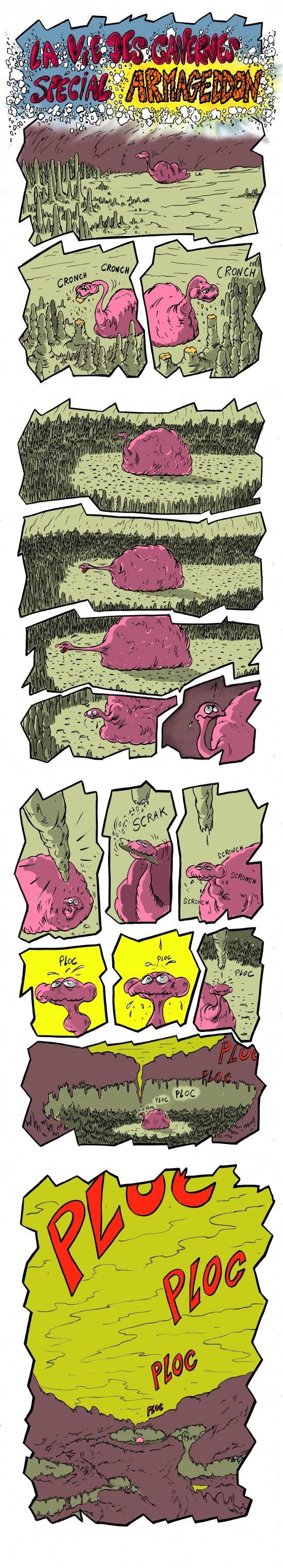 fanzine,bd,bande-dessinée,armagedon,armageddon,strip,gratuite,caverne,david roche