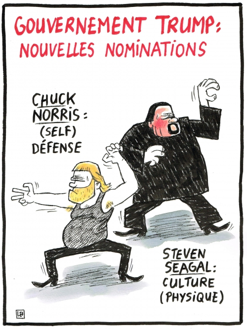 webzine,bd,zébra,gratuit,fanzine,bande-dessinée,caricature,chuck norris,steven seagal,trump,usa,dessin,presse,satirique,editorial cartoon,lb