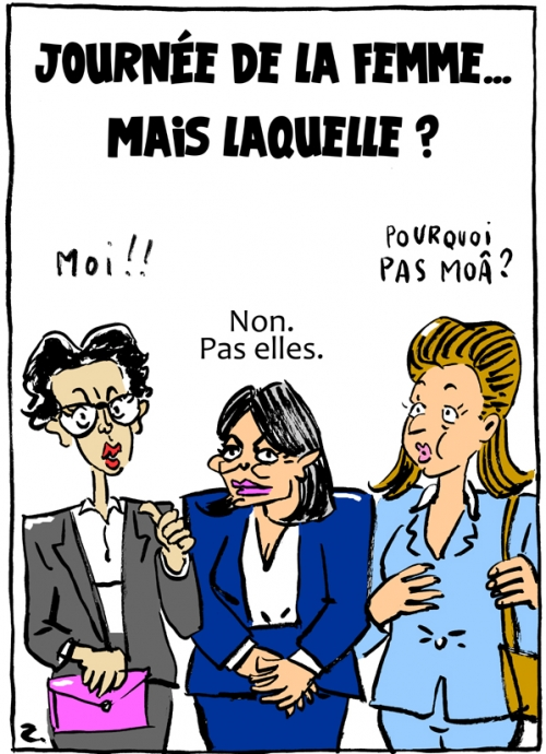 webzine,bd,zébra,fanzine,gratuit,bande-dessinée,caricature,anne hidalgo,agnès buzyn,rachida dati,paris,municipales,élections,journée,femme,dessin,presse,satirique,editorial cartoon,zombi
