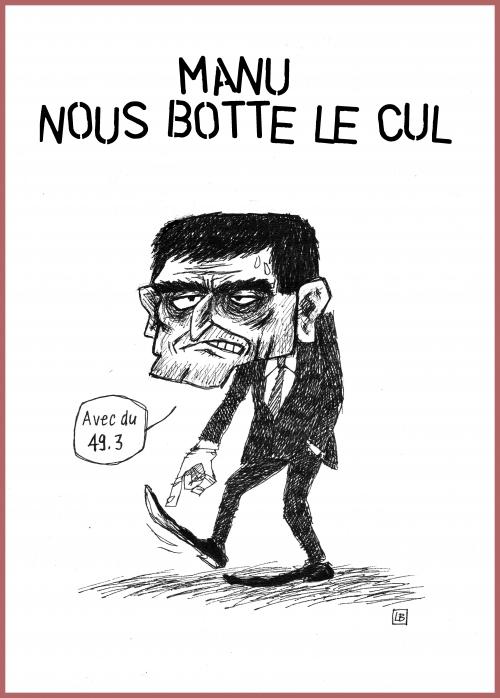 webzine,zébra,bd,gratuit,fanzine,bande-dessinée,caricature,manuel valls,49-3,dessin,presse,satirique,lb,editorial cartoon
