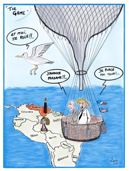 webzine,bd,zébra,fanzine,gratuit,bande-dessinée,caricature,vénézuela,maduro,usa,trump,échecs,diplomatie,laouber,dessin,presse,satirique,editorial cartoon