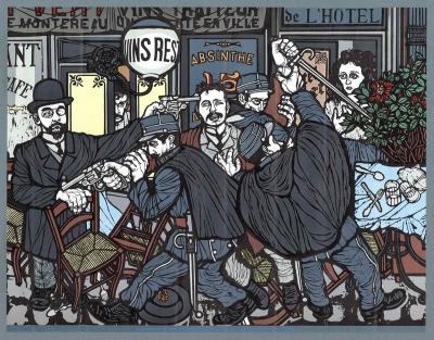 webzine,bd,zébra,gratuit,fanzine,bande-dessinée,henry de groux,ravachol,anarchiste,libertaire,bourgeois,flavio costantini,illustration,journal,léon bloy,kimé