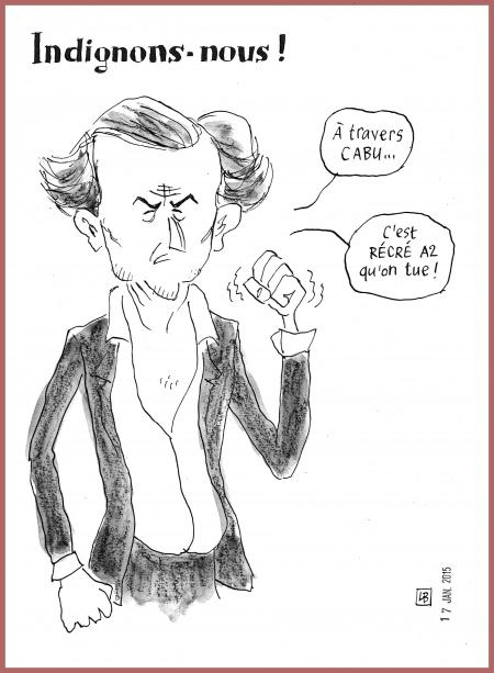 webzine,gratuit,bd,zébra,fanzine,bande-dessinée,caricature,bhl,bernard-henry lévy,indignation,cabu,récré a2,dessin,presse,lb,satirique,editorial cartoon