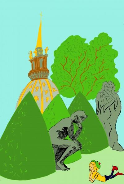 musée,rodin,jardins,balzac,penseur,lola,aurélie,dekeyser