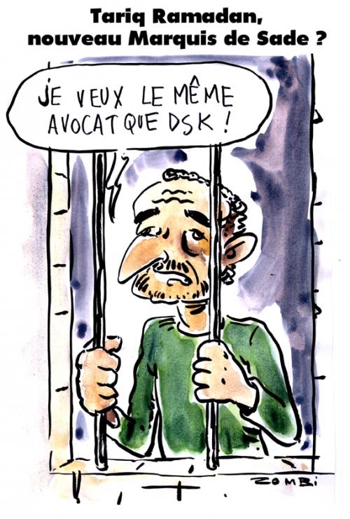 webzine,bd,gratuit,zébra,fanzine,bande-dessinée,caricature,tariq ramadan,prison,dsk,sade,dessin,presse,satirique,editorial cartoon,zombi