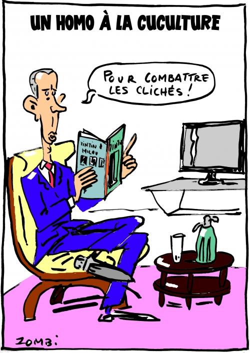 webzine,bd,gratuit,fanzine,zébra,bande-dessinée,caricature,franck riester,homo,culture,ministre,dessin,presse,satirique,editorial cartoon,zombi