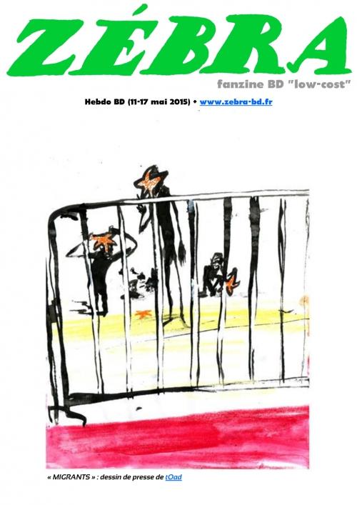 webzine,bd,gratuit,fanzine,zébra,bande-dessinée,revue de presse,actualité,hebdomadaire,dessin,presse,caricature,issuu.com,pdf,lien hypertexte