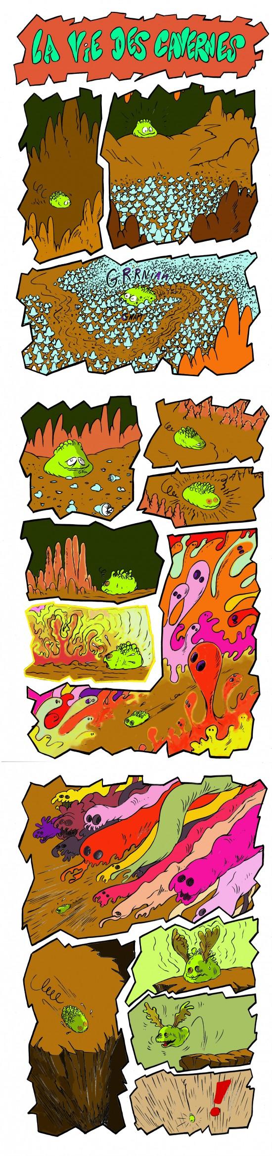 fanzine,bd,bande-dessinée,strip,gratuite,caverne,david roche
