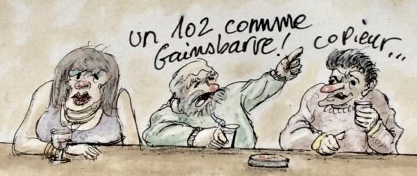 webzine,bd,zébra,gratuit,fanzine,bande-dessinée,caricature,citation,gainsbarre,gainsbourg,humour,marc schmitt