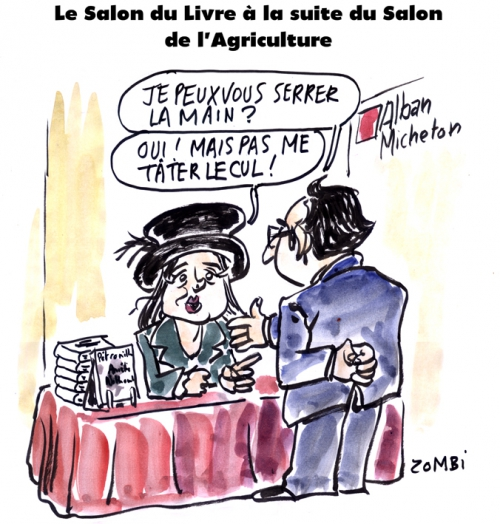 webzine,bd,zébra,fanzine,gratuit,bande-dessinée,caricature,amélie nothomb,salon,livre,agriculture,françois hollande,2016,dessin,presse,satirique,editorial cartoon,zombi