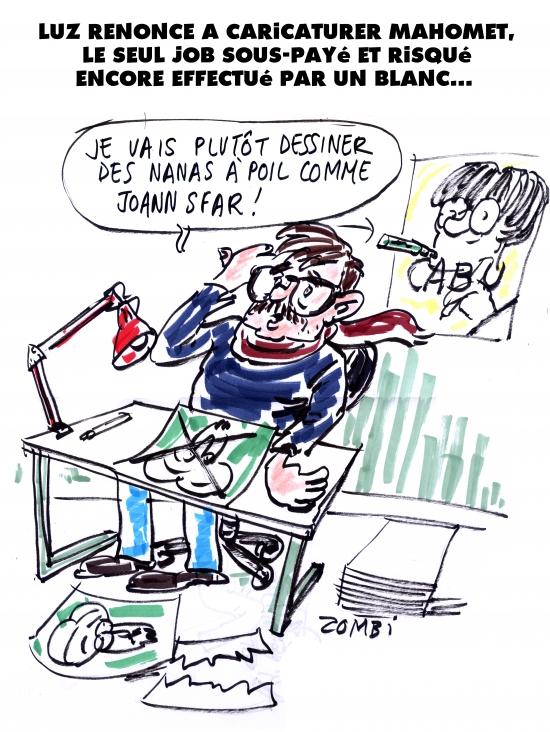 webzine,gratuit,zébra,bd,fanzine,bande-dessinée,caricature,luz,charlie-hebdo,mahomet,dessin,presse,zombi,editorial cartoon,satirique