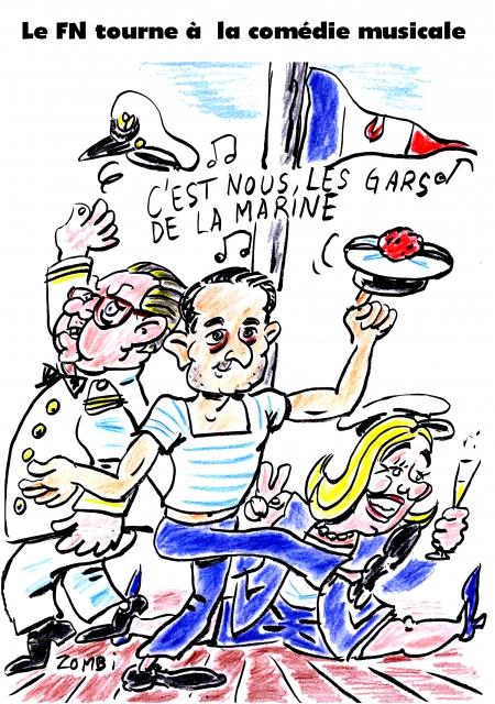 webzine,bd,gratuit,fanzine,zébra,bande-dessinée,caricature,florian philippot,fn,marine le pen,jean-marie le pen,comédie musicale,dessin,presse,satirique,editorial cartoon,zombi