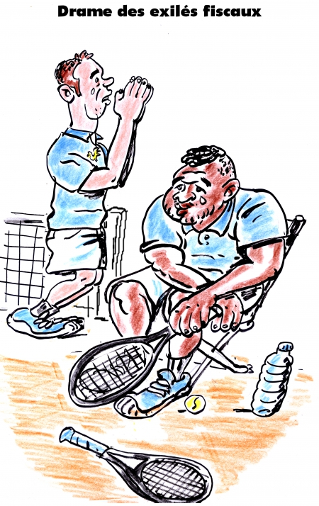 webzine,bd,gratuit,fanzine,bande-dessinée,satirique,caricature,coupe davis,jo-wilfrid tsonga,richard gasquet,tennis,dessin,presse,editorial cartoon,zombi