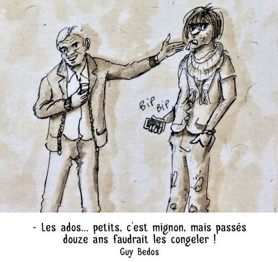 webzine,bd,zébra,gratuit,fanzine,bande-dessinée,caricature,guy bedos,ado,citation,portrait,dessin,satire,marc schmitt