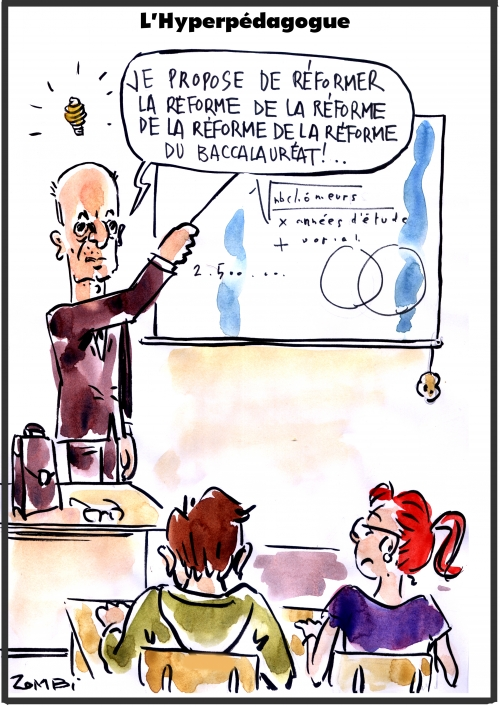 webzine,bd,zébra,fanzine,gratuit,bande-dessinée,caricature,jean-michel blanquer,éducation,nationale,réforme,baccalauréat,dessin,presse,satirique,editorial cartoon,zombi