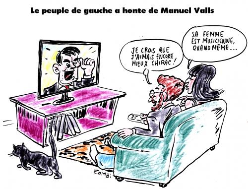 webzine,gratuit,bd,zébra,fanzine,bande-dessinée,caricature,gauche,manuel valls,dessin,presse,zombi,editorial cartoon