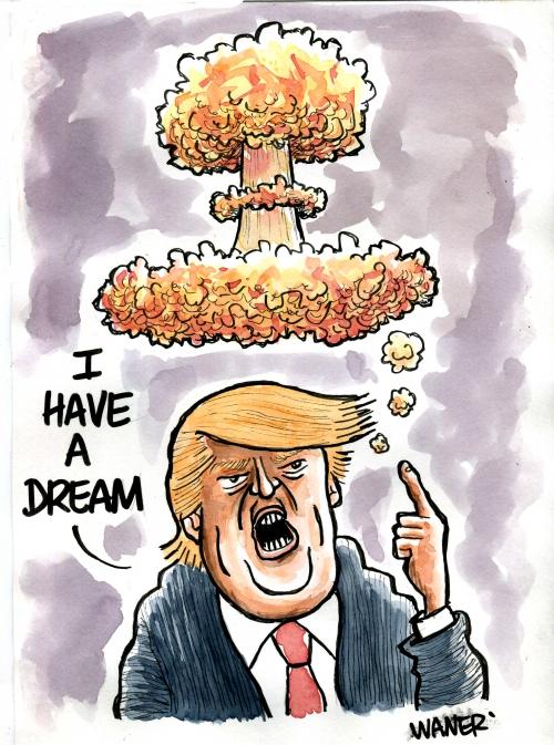webzine,bd,gratuit,zébra,fanzine,bande-dessinée,caricature,donald trump,champignon,nucléaire,dessin,presse,satirique,editorial cartoon