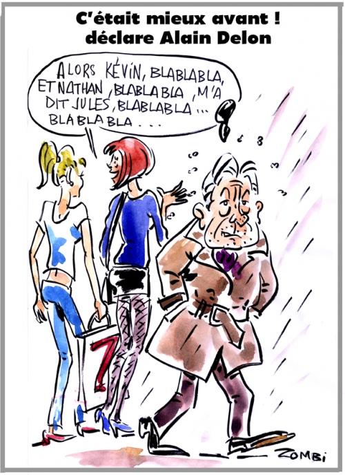 webzine,bd,zébra,gratuit,fanzine,bande-dessinée,caricature,alain delon,nostalgie,dessin,presse,satirique,zombi,editorial cartoon