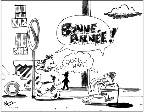webzine,bd,gratuit,fanzine,zébra,bande-dessinée,gag,voeux,2017,jon x,dessin,humour