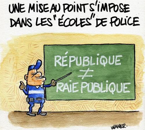 webzine,bd,zébra,gratuit,fanzine,bande-dessinée,caricature,waner,police,républicaine,dessin,presse,satirique,editorial cartoon