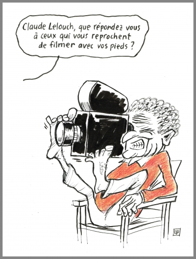 webzine,bd,gratuit,zébra,fanzine,bande-dessinée,critique,claude lelouch,cinéma,un + une,elsa zylberstein,jean dujardin,caricature,navet