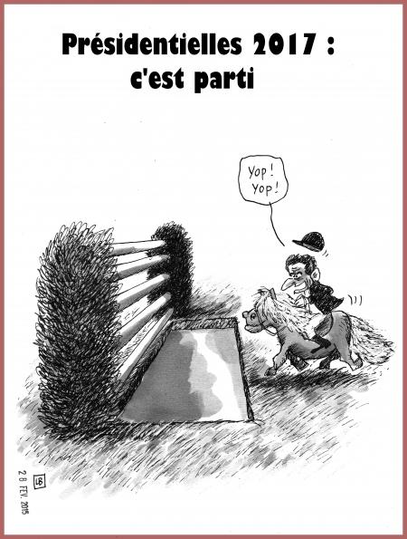 webzine,bd,gratuit,zébra,fanzine,bande-dessinée,caricature,nicolas sarkozy,saut d'obstacle,poney,présidentielle,2017,dessin,presse,satirique,editorial cartoon,lb