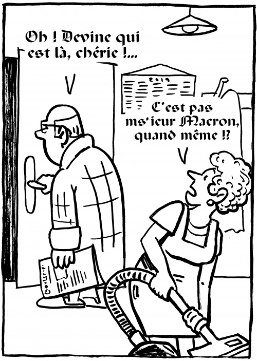 webzine,bd,zébra,gratuit,fanzine,bande-dessinée,caricature,emmanuel macron,président,république,dessin,presse,satirique,editorial cartoon,zombi
