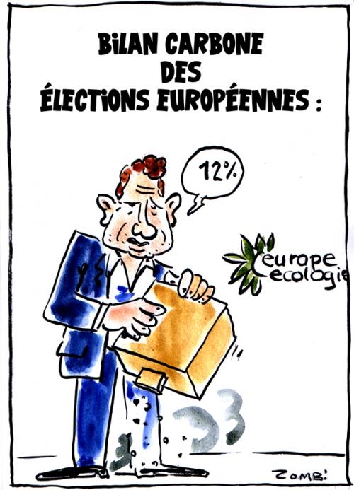 webzine,bd,zébra,gratuit,fanzine,bande-dessinée,caricature,yannick jadot,élections,européenne,écologie,eelv,bilan carbone,dessin,presse,satirique,editorial cartoon,zombi