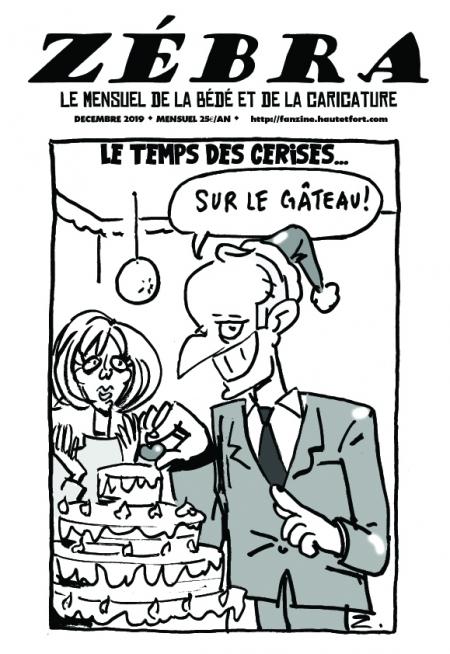 webzine,bd,gratuit,zébra,fanzine,bande-dessinée,pdf,mensuel,caricature,waner,laouber,zombi,lb,reyn,décembre,2019,dessin,presse,satirique