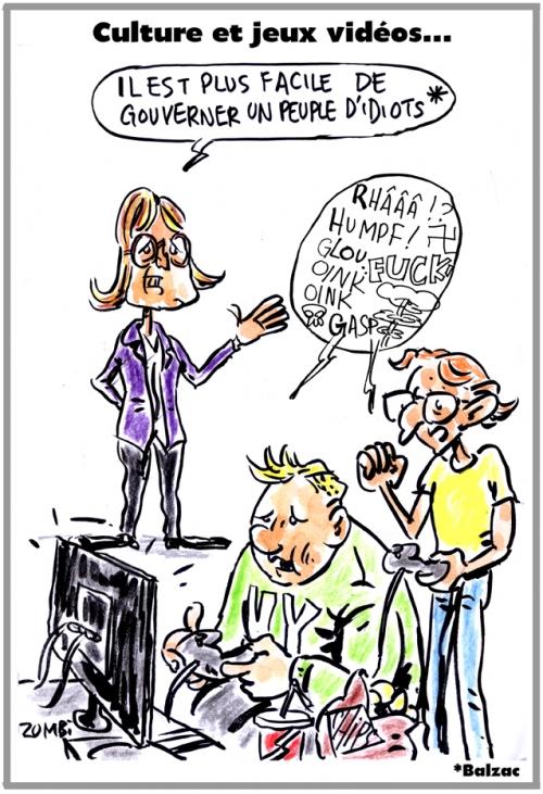 webzine,dessin,zébra,gratuit,fanzine,bande-dessinée,caricature,françoise nyssen,ministre,culture,jeux vidéos,dessin,presse,satirique,editorial cartoon,zombi