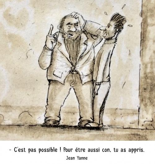 webzine,bd,zébra,gratuit,fanzine,bande-dessinée,caricature,marc schmitt,jean yanne,idiotie,dessin,satire