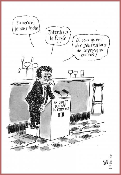 webzine,gratuit,zébra,bd,fanzine,bande-dessinée,caricature,nicolas sarkozy,fessée,dessin,presse,satirique,editorial cartoon,lb