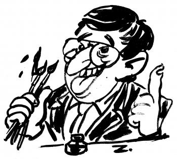 webzine,bd,gratuit,fanzine,zébra,bande-dessinée,plume,pinceau,encre de chine,franquin,gillain,studio,michel tamer,pelikan,stylo,marker,tablette graphique,calligraphie,japonaise