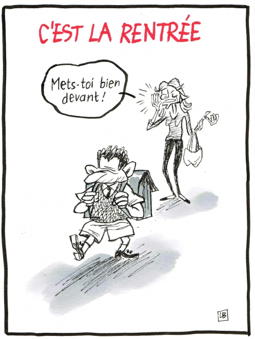 webzine,bd,fanzine,zébra,gratuit,bande-dessinée,caricature,rentrée,septembre,nicolas sarkozy,carla bruni,dessin,presse,editorial cartoon,satirique,énigmatique lb