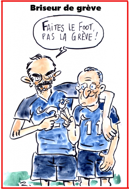 webzine,bd,zébra,gratuit,fanzine,bande-dessinée,caricature,edouard philippe,didier deschamps,coupe,monde,football,dessin,presse,satirique,editorial cartoon,zombi
