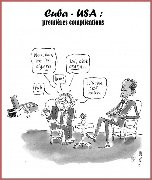 webzine,gratuit,zébra,bd,fanzine,bande-dessinée,lb,caricature,barack obama,raul castro,dessin,presse,satirique,editorial cartoon