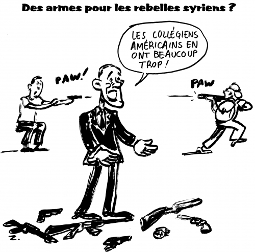 webzine,bd,gratuit,zébra,fanzine,bande-dessinée,caricature,barack obama,armes,syrie,vase,pandore,dessin,presse,zombi