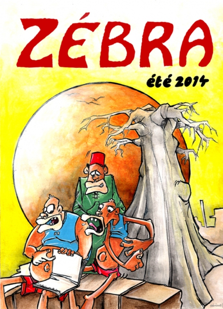 webzine,bd,zébra,gratuit,fanzine,bande-dessinée,couverture,8,été 2014,nabaloum boureima,burkina faso,aurélie dekeyser,zombi,naumasq