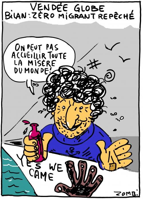 webzine,bd,zébra,gratuit,fanzine,bande-dessinée,caricature,jean le cam,vendée globe,yes we cam,dessin,presse,satirique,editorial cartoon,zombi