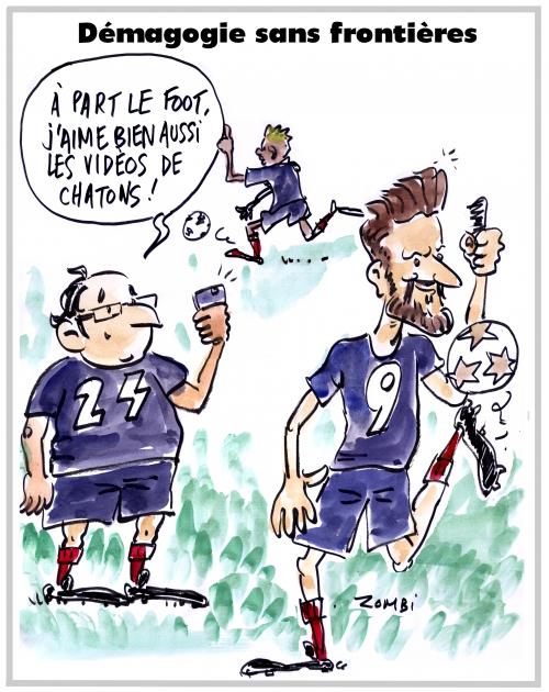webzine,bd,zébra,gratuit,fanzine,bande-dessinée,caricature,françois hollande,football,olivier giroud,équipe,dessin,presse,satirique,editorial cartoon,zombi