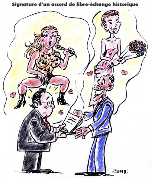 webzine,bd,gratuit,zébra,fanzine,bande-dessinée,caricature,beyoncé,barack obama,beyoncé,françois hollande,julie gayet,dessin,presse,editorial cartoon,zombi