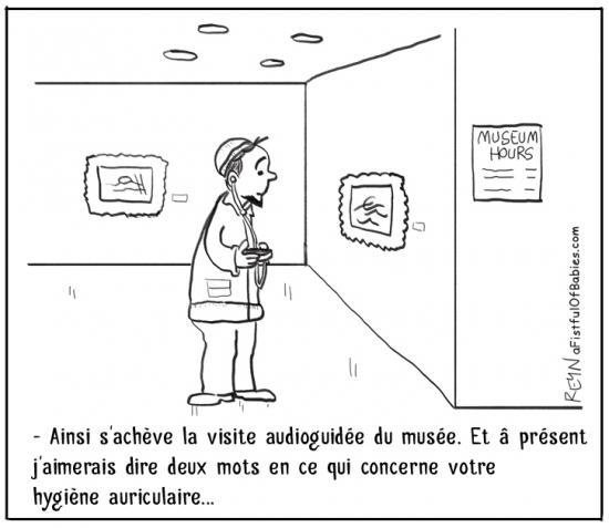 webzine,bd,zébra,fanzine,gratuit,bande-dessinée,comic-strip,reyn,afistfulofbabies.com,musée,audioguide,auriculaire,humour,gag