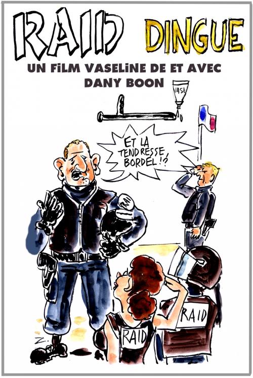 webzine,gratuit,zébra,fanzine,bande-dessinée,caricature,raid-dingue,dany boon,violence policière,dessin,presse,satirique,editorial cartoon,zombi