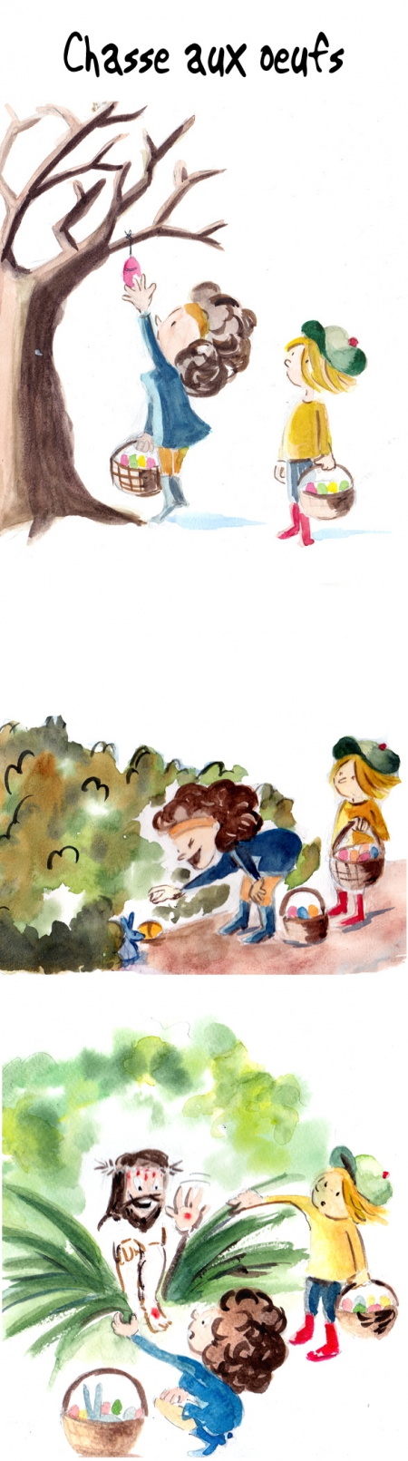 webzine,bd,gratuit,zébra,bande-dessinée,fanzine,strip,lola,aurélie dekeyser,chasse aux oeufs,jésus,pâques
