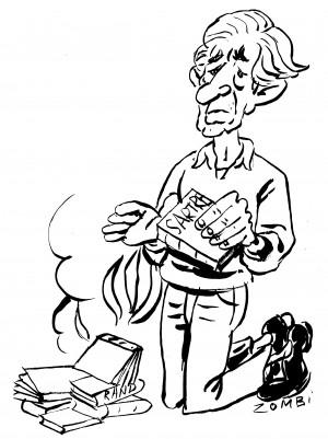 fanzine,zébra,bd,bande-dessinée,edward sorel,caricature,zombi,ronald reagan