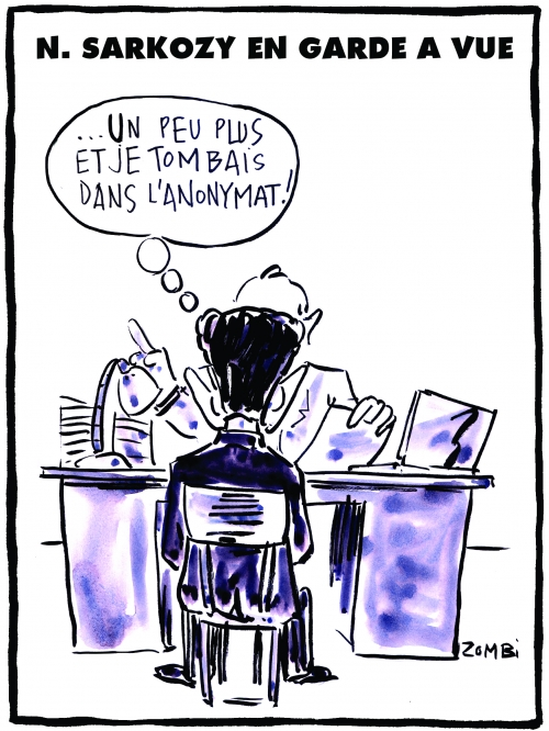webzine,bd,zébra,fanzine,gratuit,bande-dessinée,caricature,sarkozy,nicolas,garde à vue,financement,campagne,présidentielle,libye,anonymat,dessin,presse,satirique,editorial cartoon,zombi