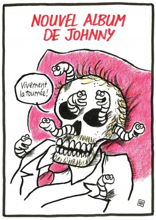 webzine,zébra,fanzine,gratuit,bande dessinée,caricature,johnny hallyday,tournée,dessin,presse,satirique,lb,siné-mensuel
